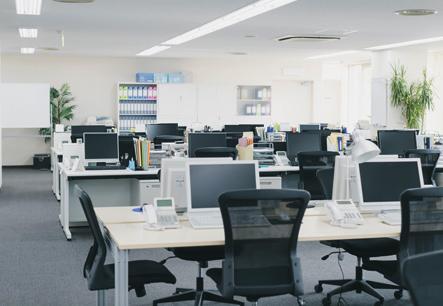 綺麗なオフィス
